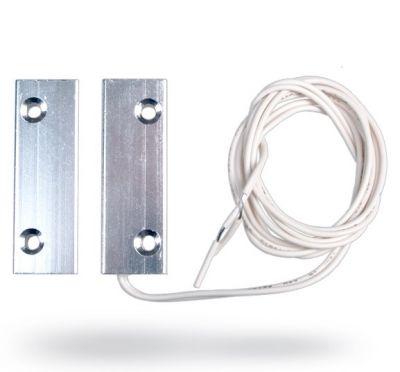 SA-204 - kovový magnetický dverný kontakt (NC)