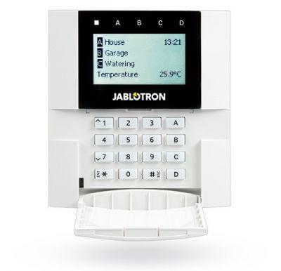 JA-150E - Bezdrôtová klávesnica s displejom a RFID čítačkou