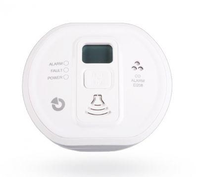 Ei208DW - Autonómny detektor plynu CO s displejom