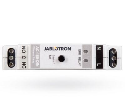 AC-160-DIN - bezdrôtové multifunkčné relé na DIN lištu s napájaním 230V AC