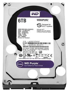 6TB WD PURPLE / WD60PURZ